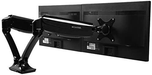 Loctek D5D Gas Spring LCD Mount Dual Monitor Arm