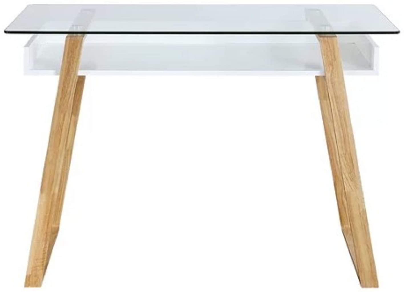 Ivy Bronx Capel Glass Desk