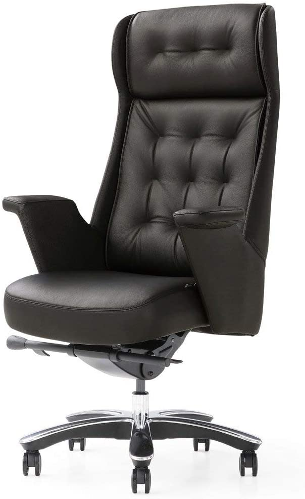 Rockefeller Leather Office Chair