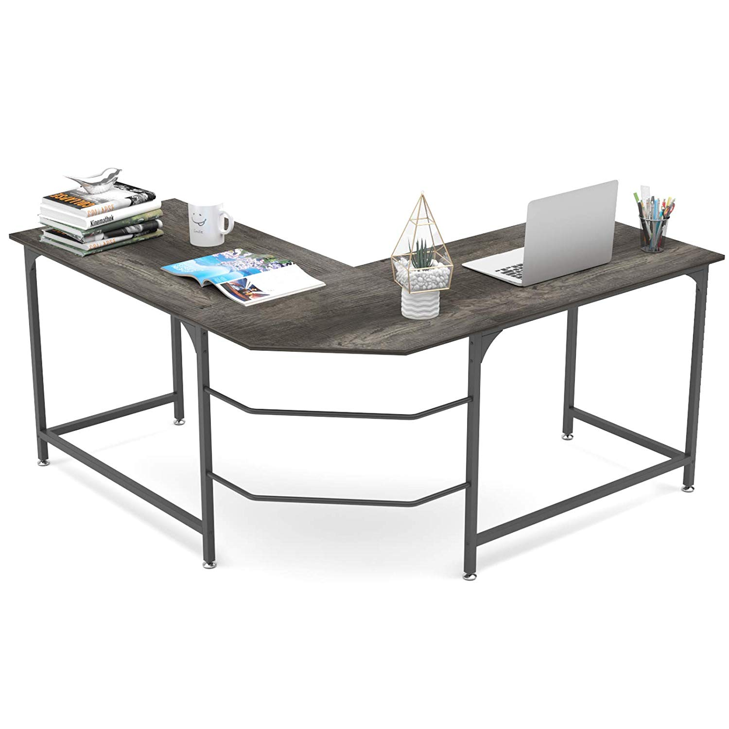 Elephance 59 inches L-shaped Desk