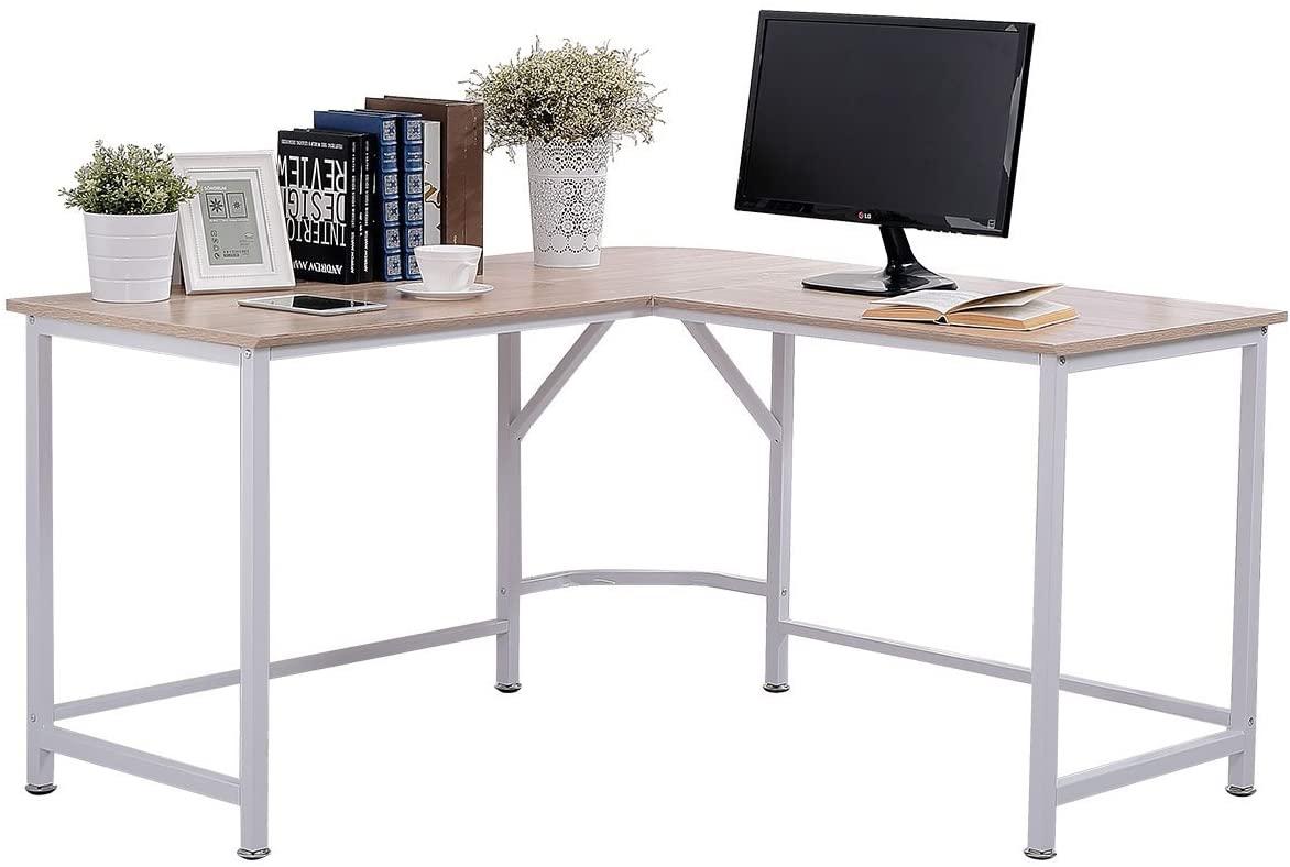 Topsky L-shaped Computer Corner Desk