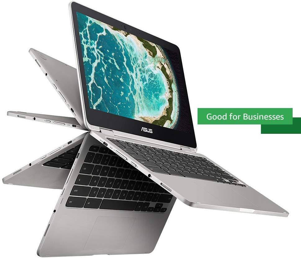 Asus Chromebook Flip C302CA-DH54 12.5-Inch Touchscreen Convertible Chromebook Intel Core M5 - Mini Notebooks