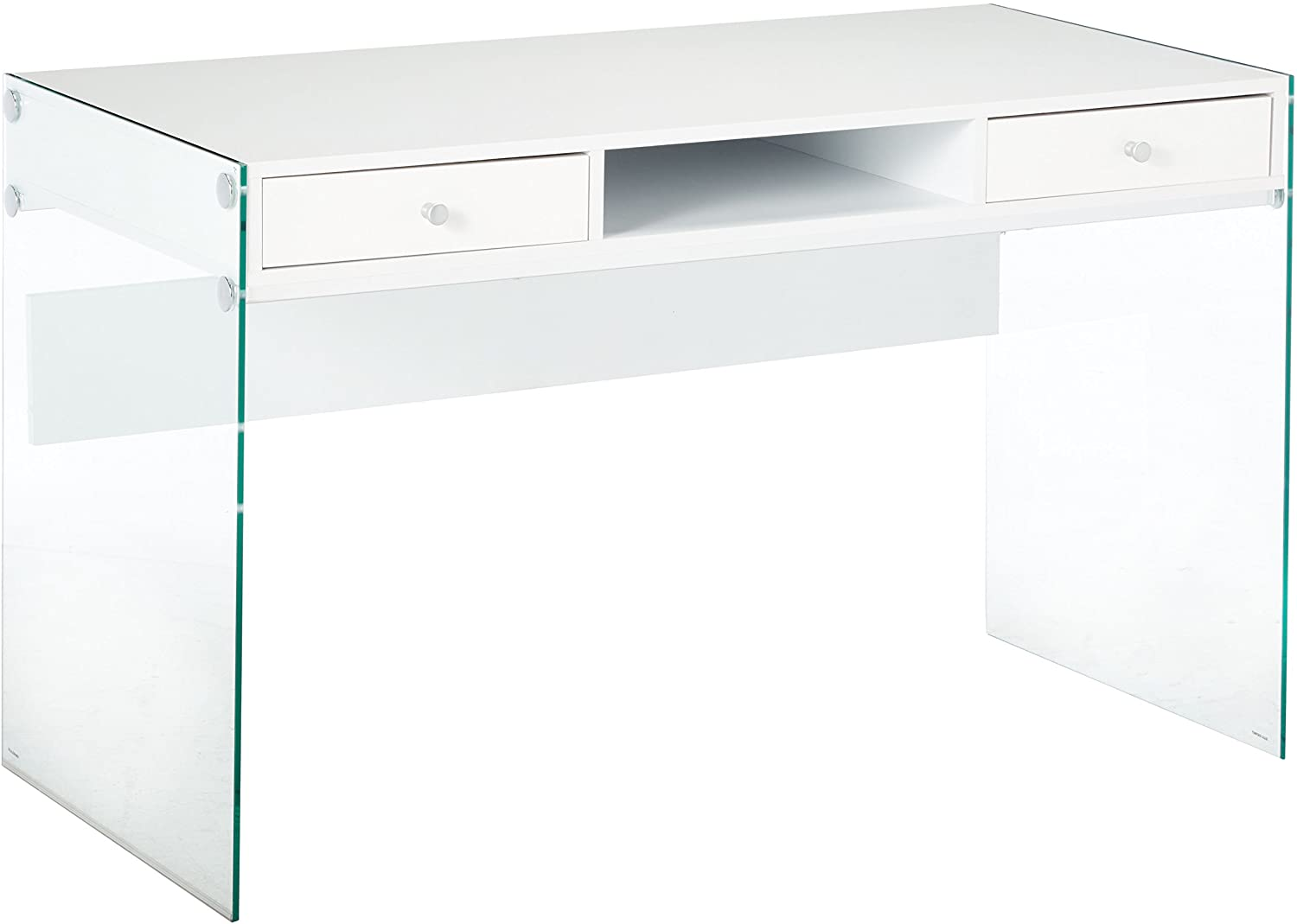 Coaster Home Furnishings Writing Desk with Glass