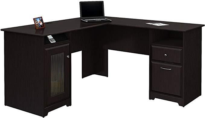 Bush Furniture Cabot L-Shaped Desk