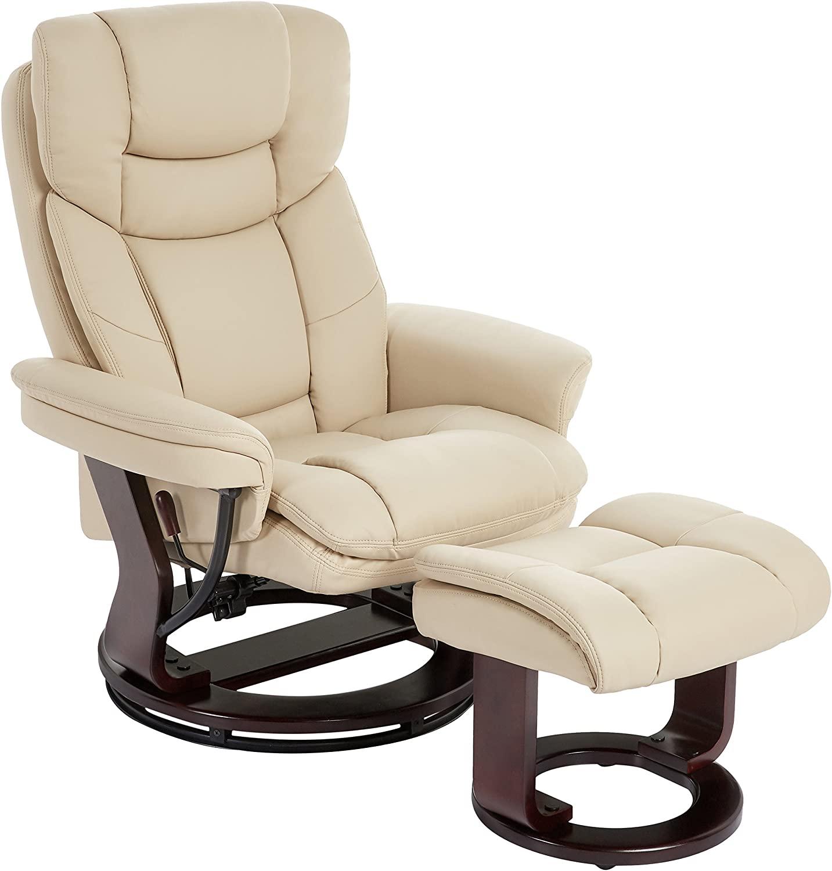JC Home Argus Ultra plus bonded leather Swivel Armchair