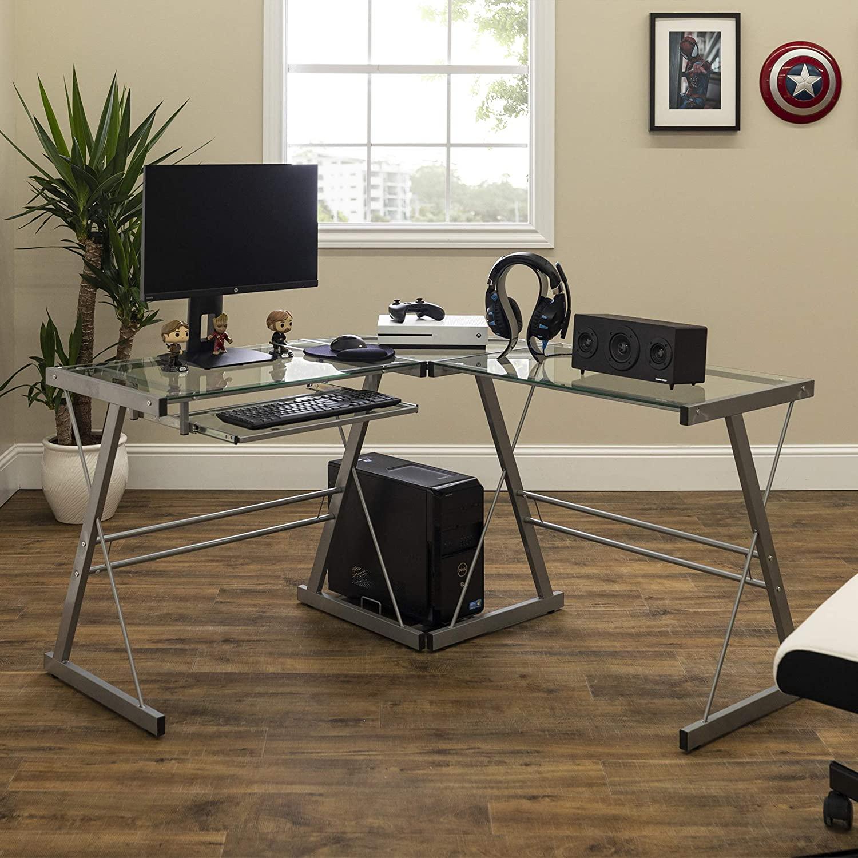 Walker Edison D51L29 Soreno Desk