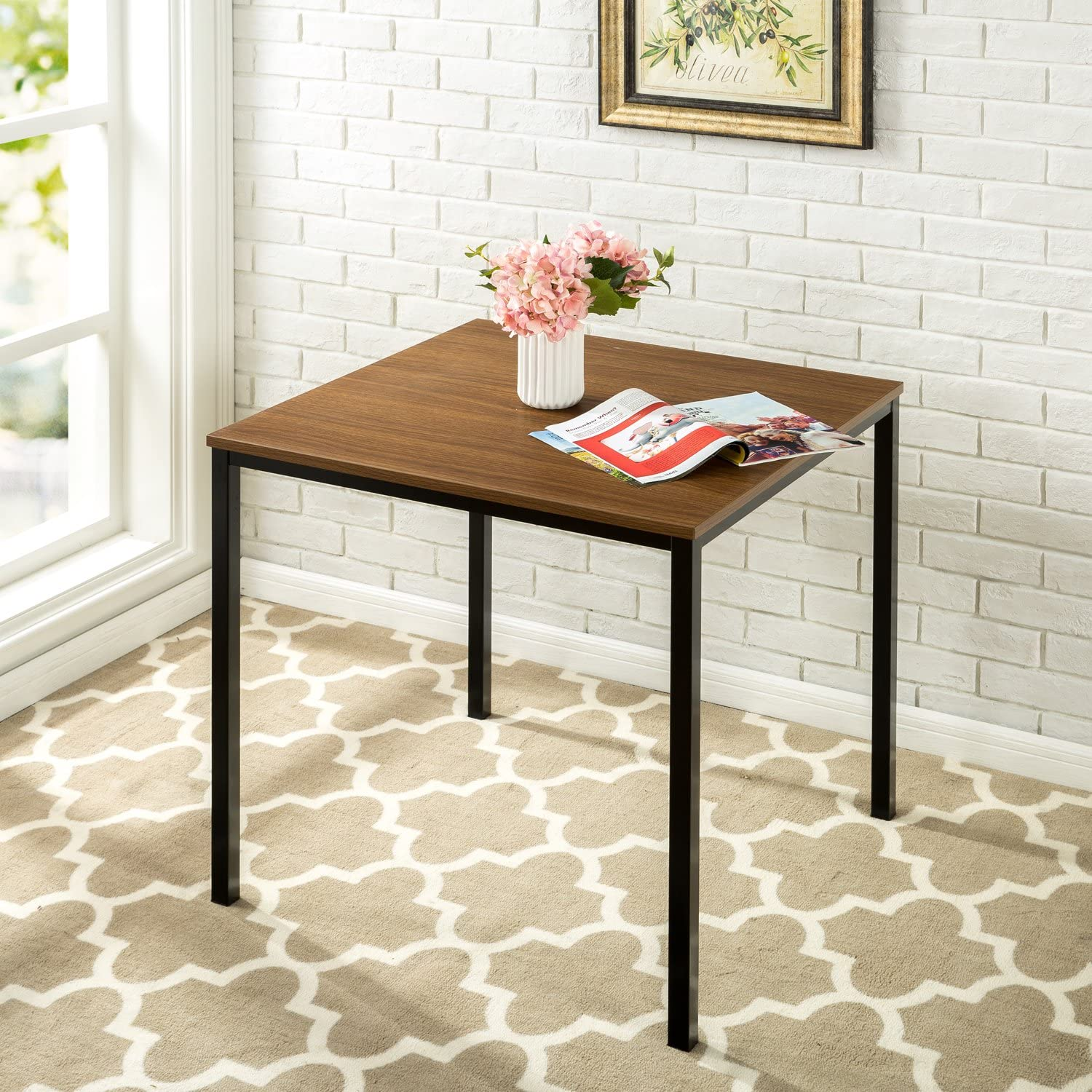 Zinus Conference Room Table Brown