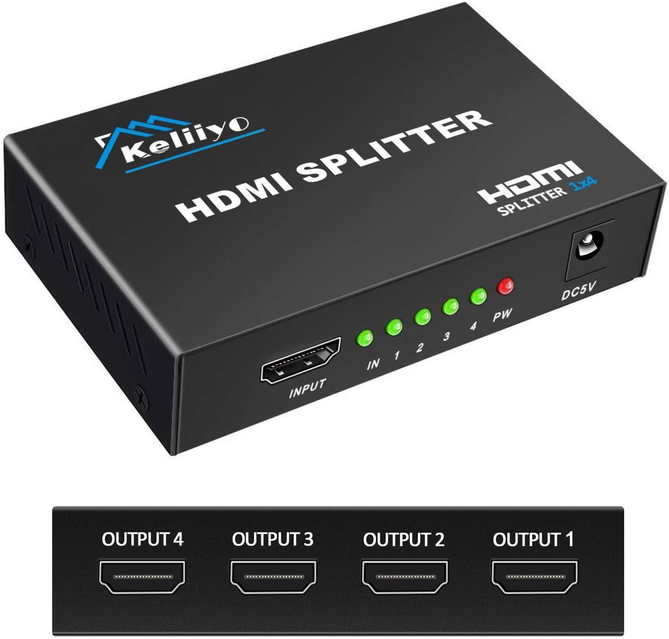Keliiyo HDMI Splitter