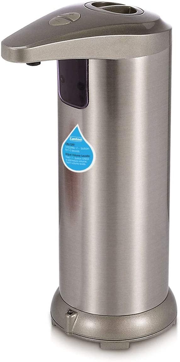Lantoo Touchless Hand Free Liquid Dish Soap Dispenser