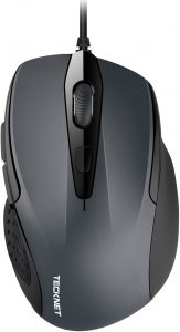 6 Button USB Wired Mouse by TECKNET