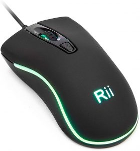 RM105 Wired Mouse by Rii