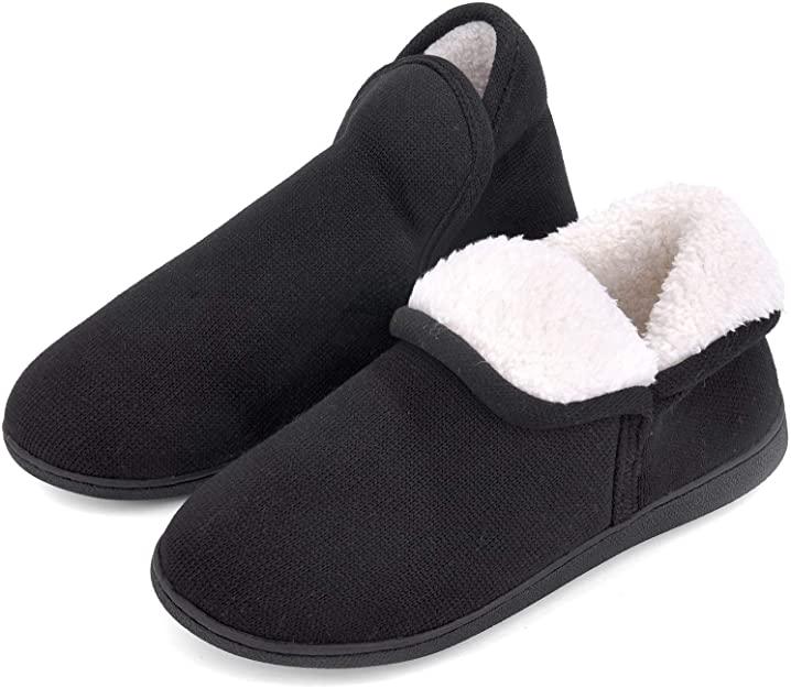 Vonmay Women's Fuzzy Slipper Boots