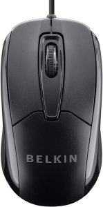 3-Button Wired USB Optical Mouse by Belkin