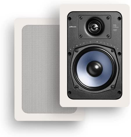 "Polk Audio RC55i 2-way Premium In-Wall 5.25"" Speakers"