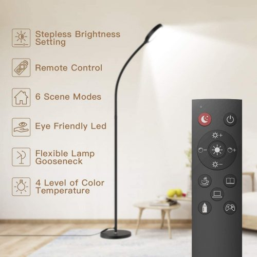 Floor Lamp - Remote & Touch Control