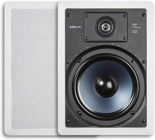 Polk Audio RC85i 2-Way Premium In-Wall 8″ Speakers