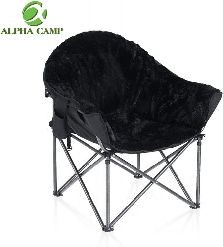 ALPHA CAMP Plush Chair