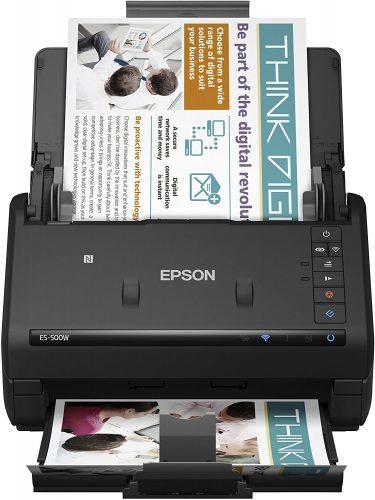 Epson WorkForce Wireless Scanner