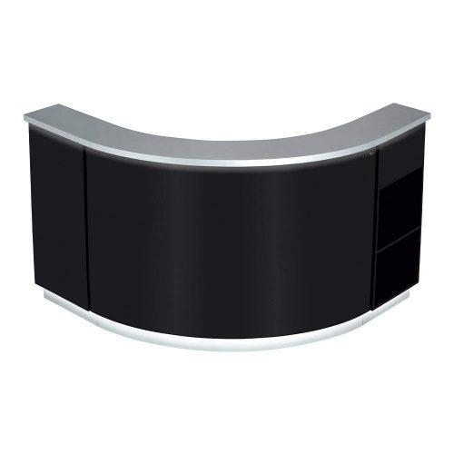 LED Illuminated Curved Reception Desks