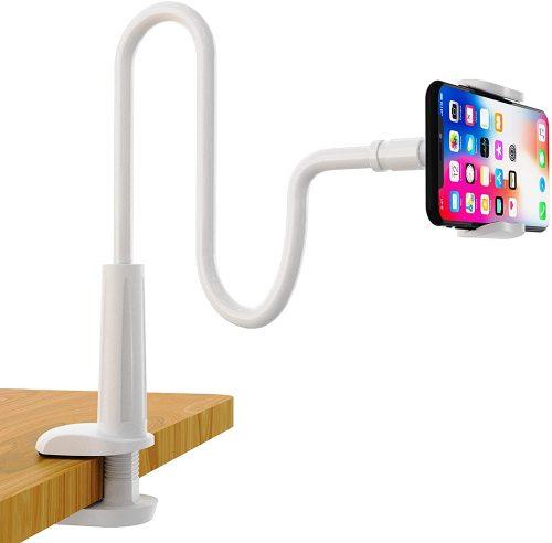 SHAWE Phone Stand Bed Gooseneck Mount