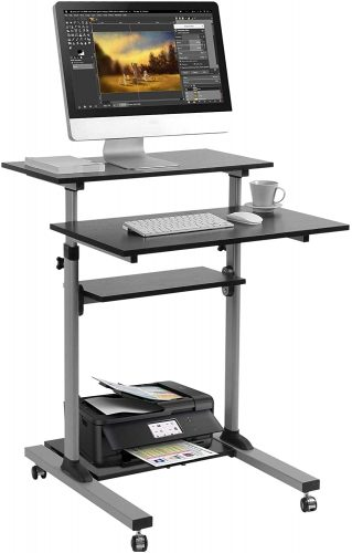 TechOrbits Mobile Standing Office Tables