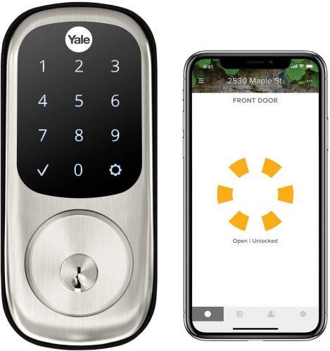 Yale Security Deadbolt Electronic Door Locks