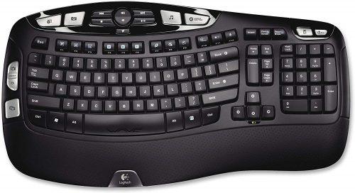 Logitech K350 Wireless Wave Keypads
