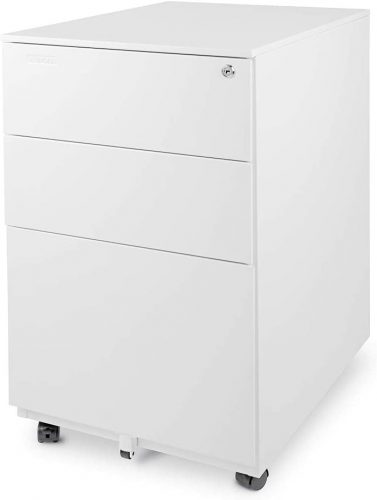 AURORA MODERN 3-DRAWER FILE CABINET
