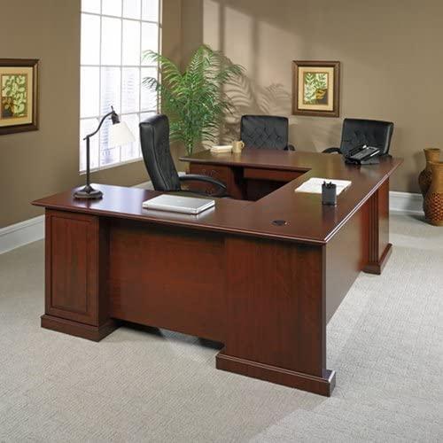Sauder Office Furniture Heritage Hill Collection Executive U-desk