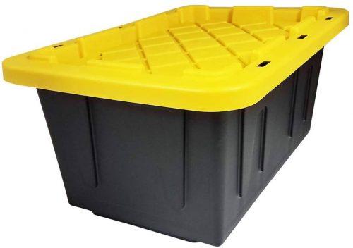 Homz 15 Gallon Durabilt - Plastic Storage Baskets