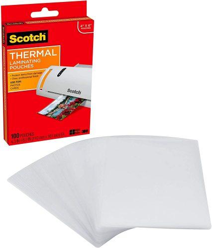 Scotch TP5900-100 Laminating Pouches - Laminate Sheets