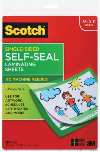 Scotch Laminating Sheets Letter - Laminate Sheets