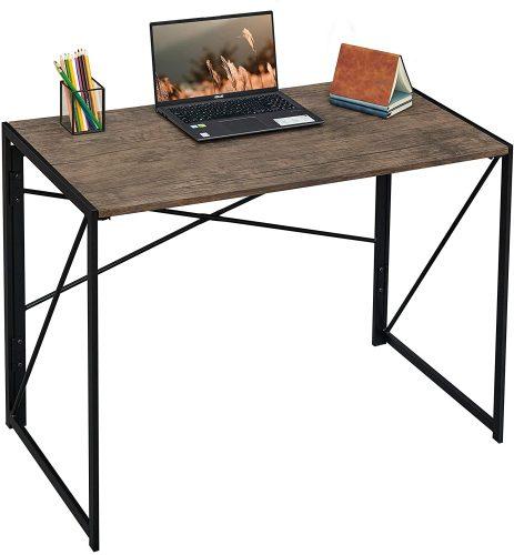 Coavas Folding Modern Office Desk - Modern Office Desks
