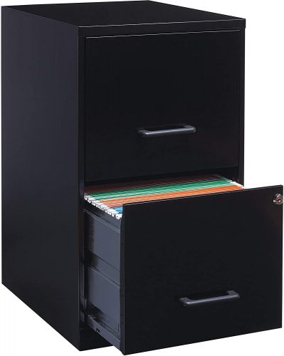 Lorell 14341 Deep Wooden File Cabinet