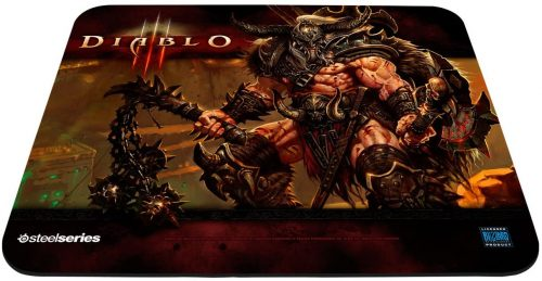 QcK Diablo III (Barbarian Edition) - Mouse Pads by SteelSeries