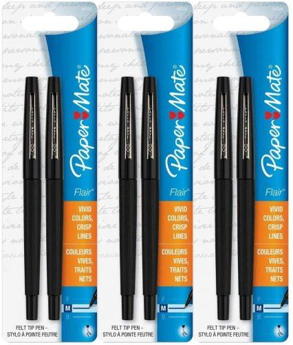 Paper Mate Flair Porous Felt Tip Pens