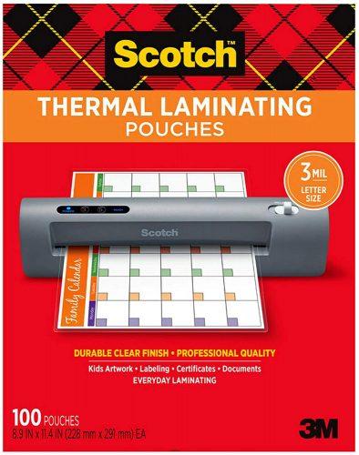 Scotch Thermal Pouches - Laminate Sheets