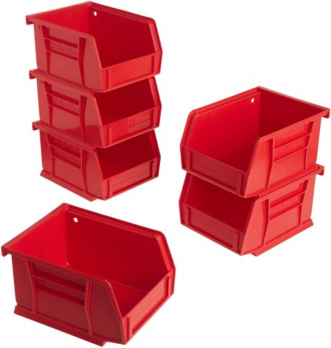 Akro-Mils 8212 Plastic Storage Basket - Plastic Storage Baskets
