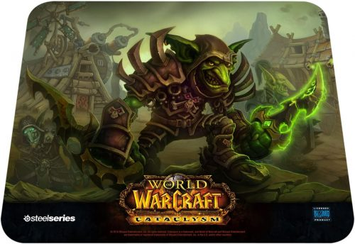 QcK World of Warcraft (Goblin Edition) - Mouse Pads by SteelSeries