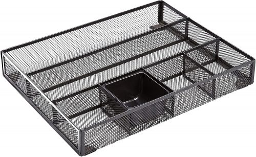 Amazon Basic Mesh Desk Drawer Organizer
