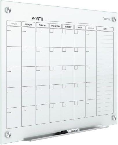 Quartet Magnetic Whiteboard Calendar - Whiteboard Calendars