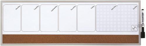Quartet Weekly Organizer - Weekly Planner Whiteboards
