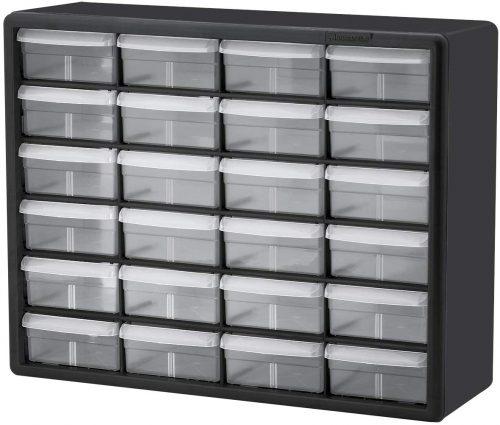 Akro-Mils Storage Hardware and Craft Cabinet - Plastic Storage Drawers