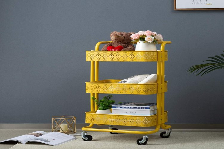 Best Rolling Carts With Drawers In 2021 | Mobile Storage