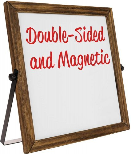 Rustic Double-Sided Whiteboard - Whiteboard Calendars