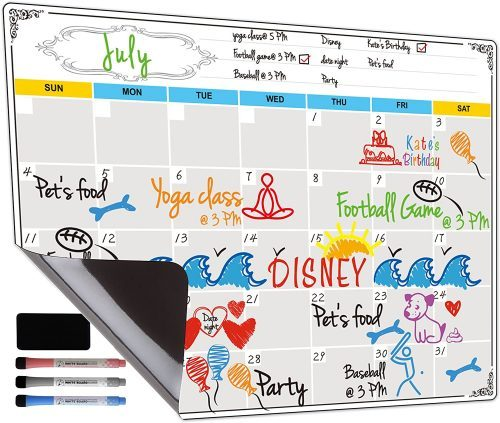 Dry Erase Calendar by Jancosta - Whiteboard Calendars