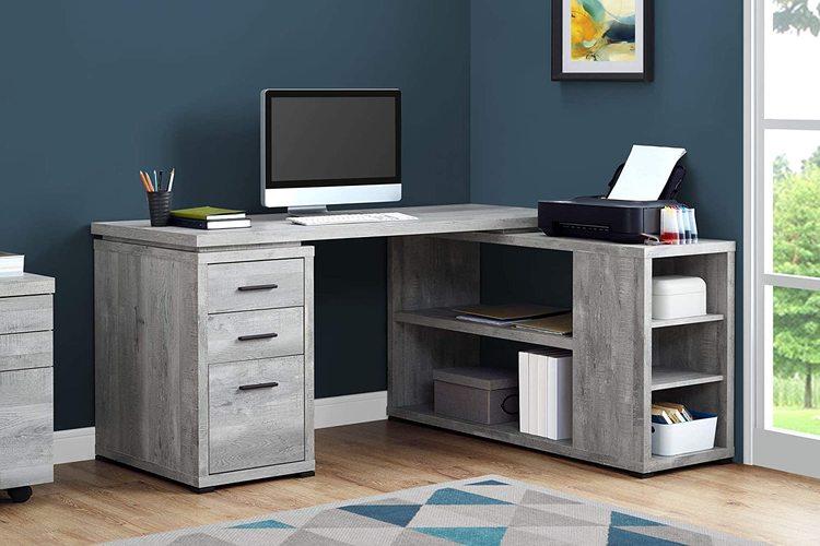 Desks with File Cabinet