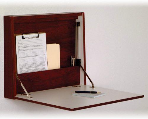 Wooden Mallet Wall Desk