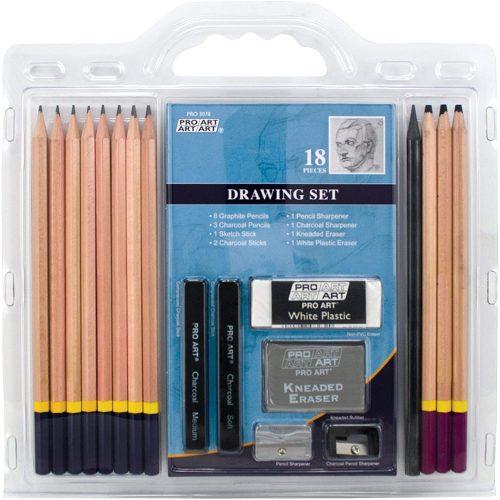PRO ART Pencil Set Sketch & Draw - Drawing Sets