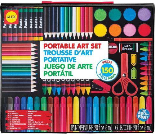 ALEX Studio Portable Art Set - Drawing Sets